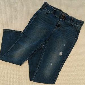 Apt. 9 Tummy Control Straight leg Jean
